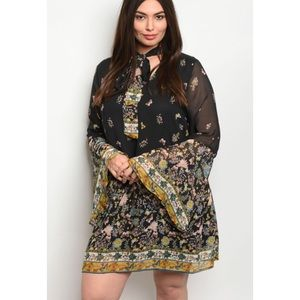 Dresses & Skirts - Plus Size Butterfly 🦋 Dress